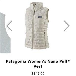 New Patagonia Women's Nano Puff® Vest